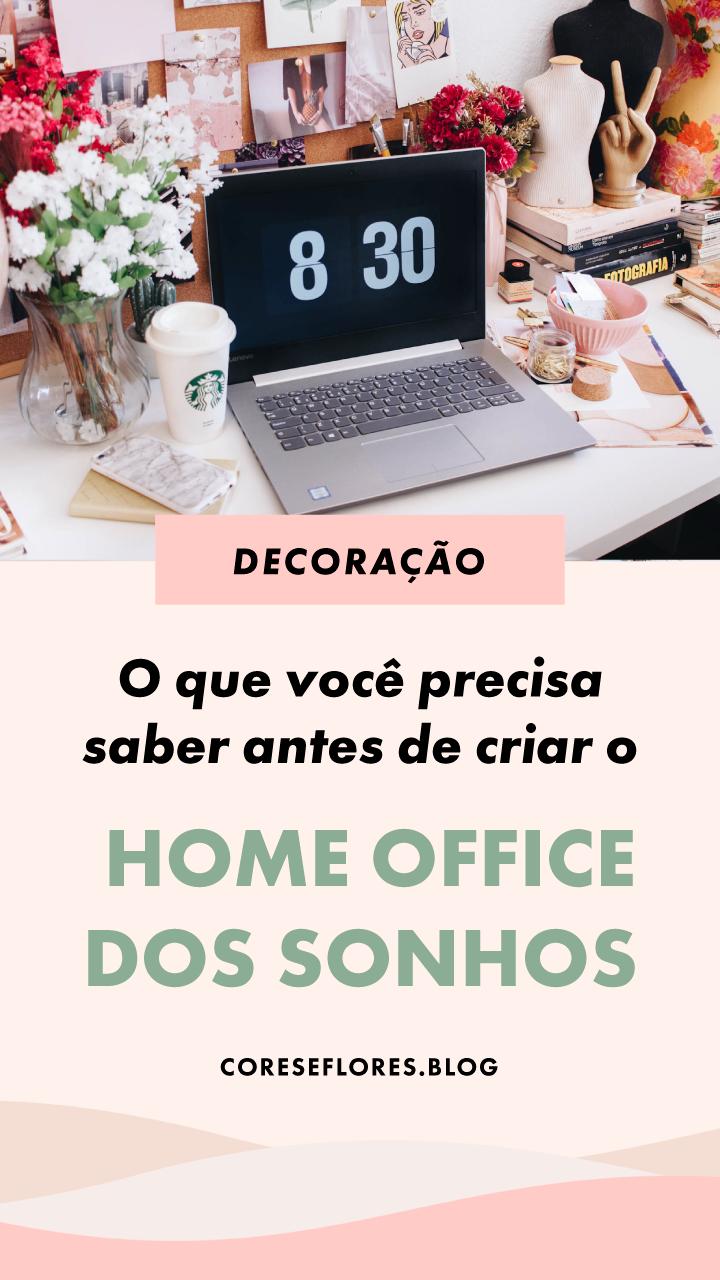 O que levar em conta na hora de criar o seu home office