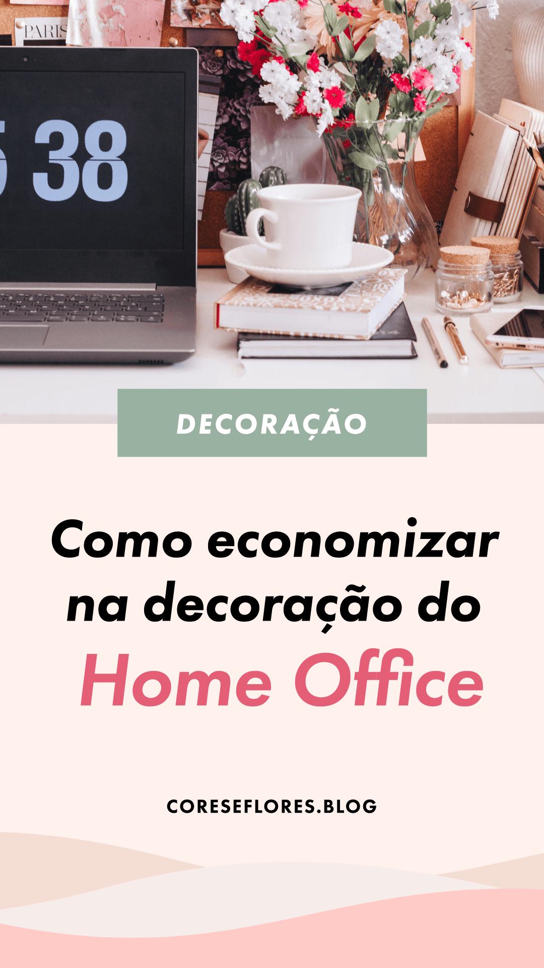Dica para blogueiras e empreendoras: Como economizar na decoração do seu home office