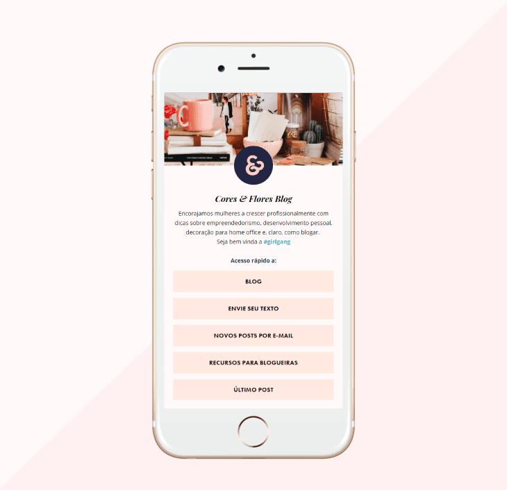Forma fácil de criar uma landing page para colocar links do instagram