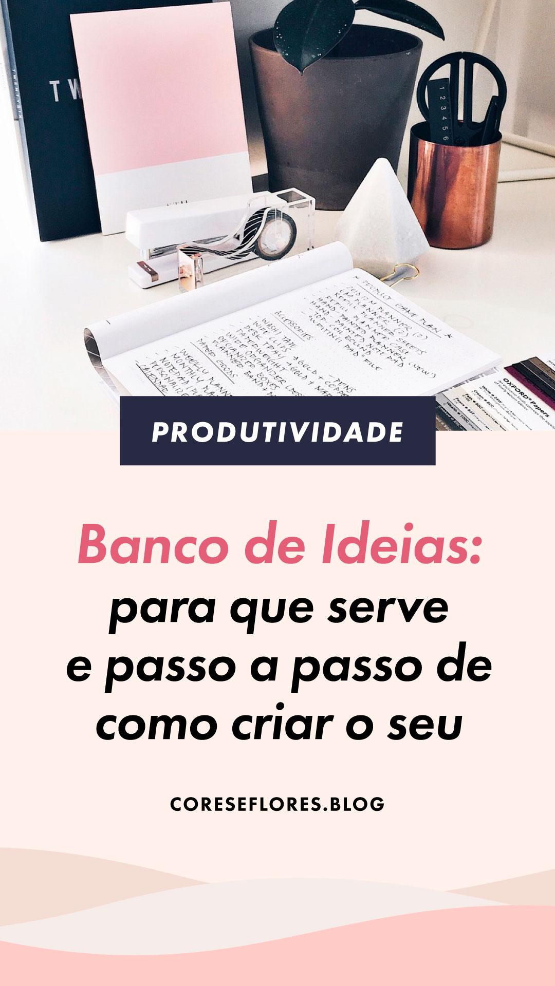 Como criar um Banco de Ideias