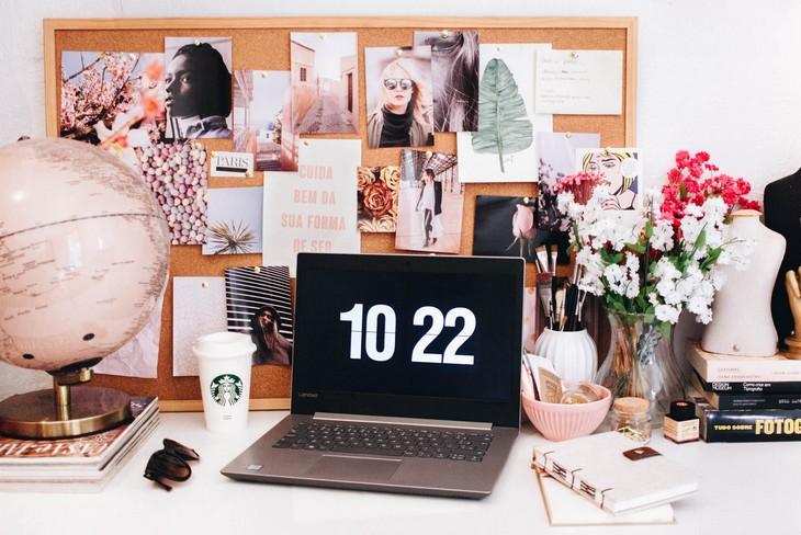 Home office funcional para blogueiras de sucesso