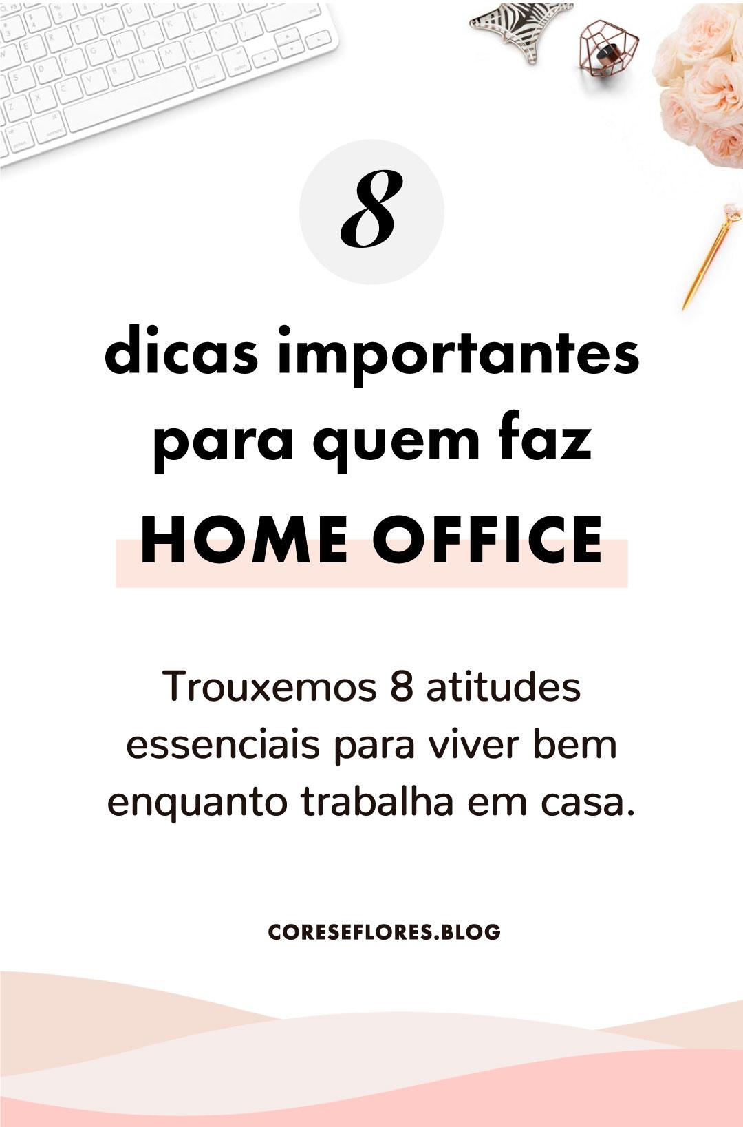 Dicas importantes para quem trabalha em casa