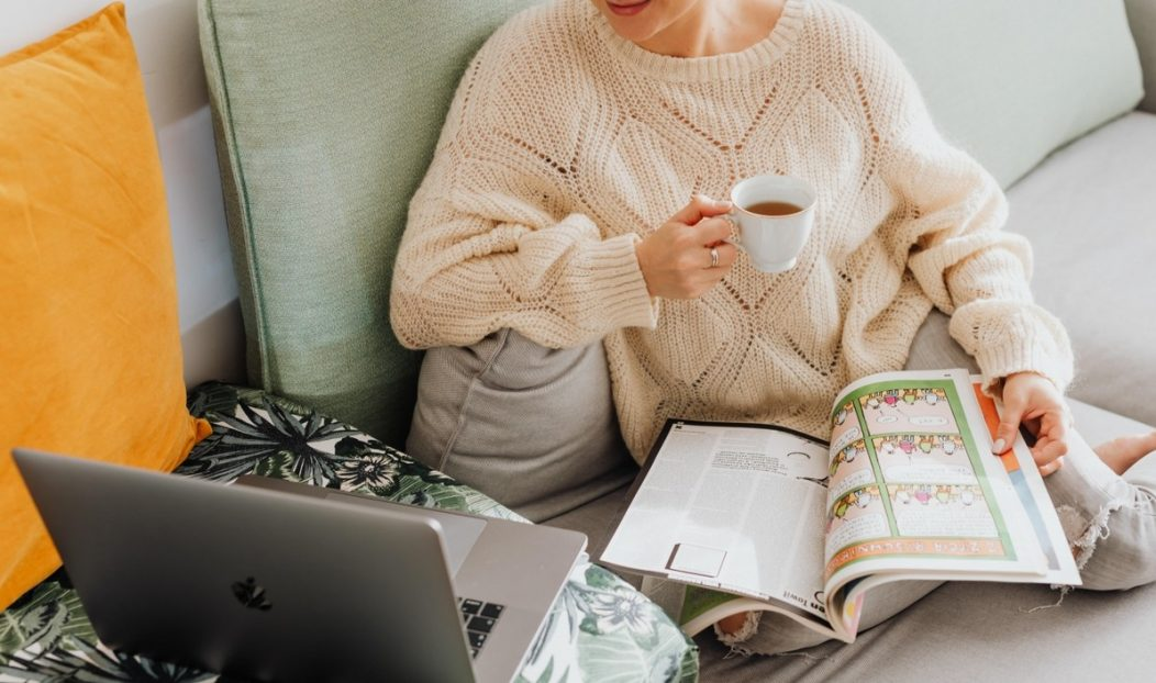 8 conselhos de autocuidados para quem trabalha em casa