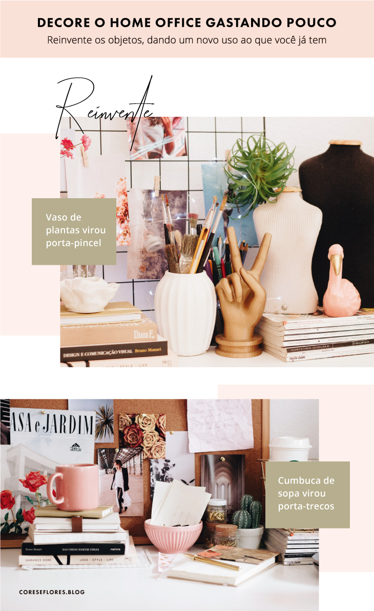 Como decorar com pouco dinheiro