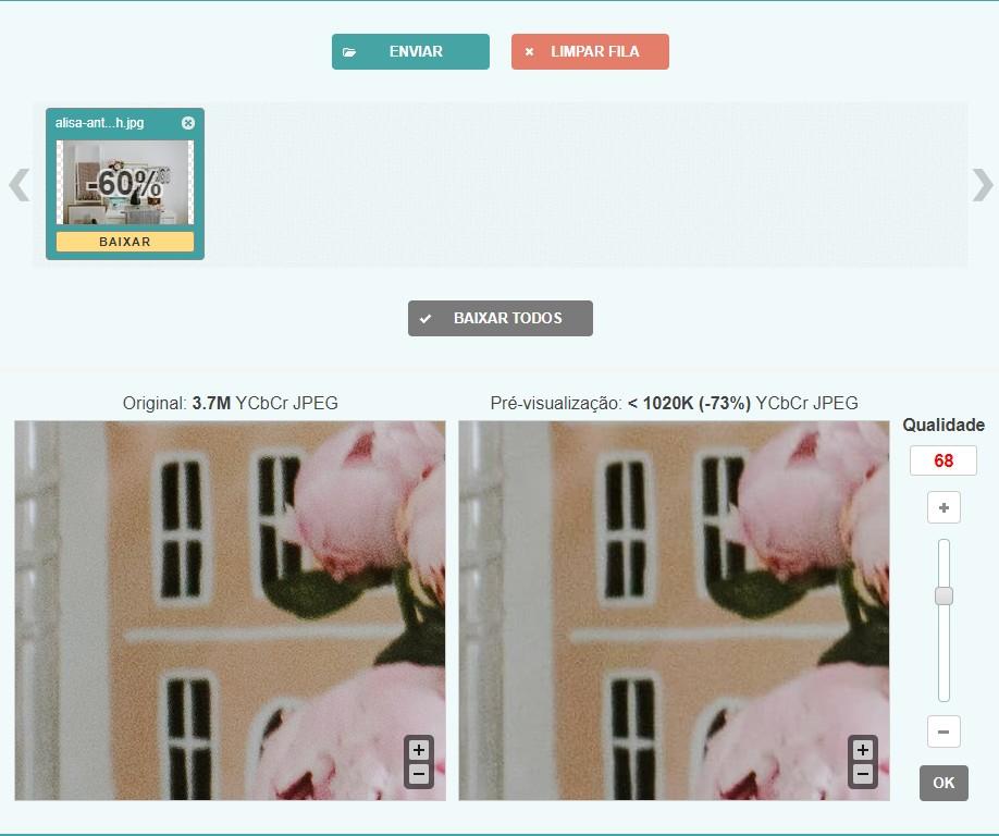 Image Compressor pode reduzir o tamanho das suas imagens
