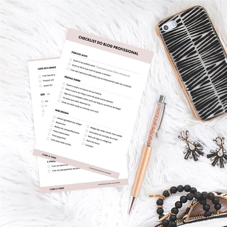 Checklist para um blog profissional de sucesso