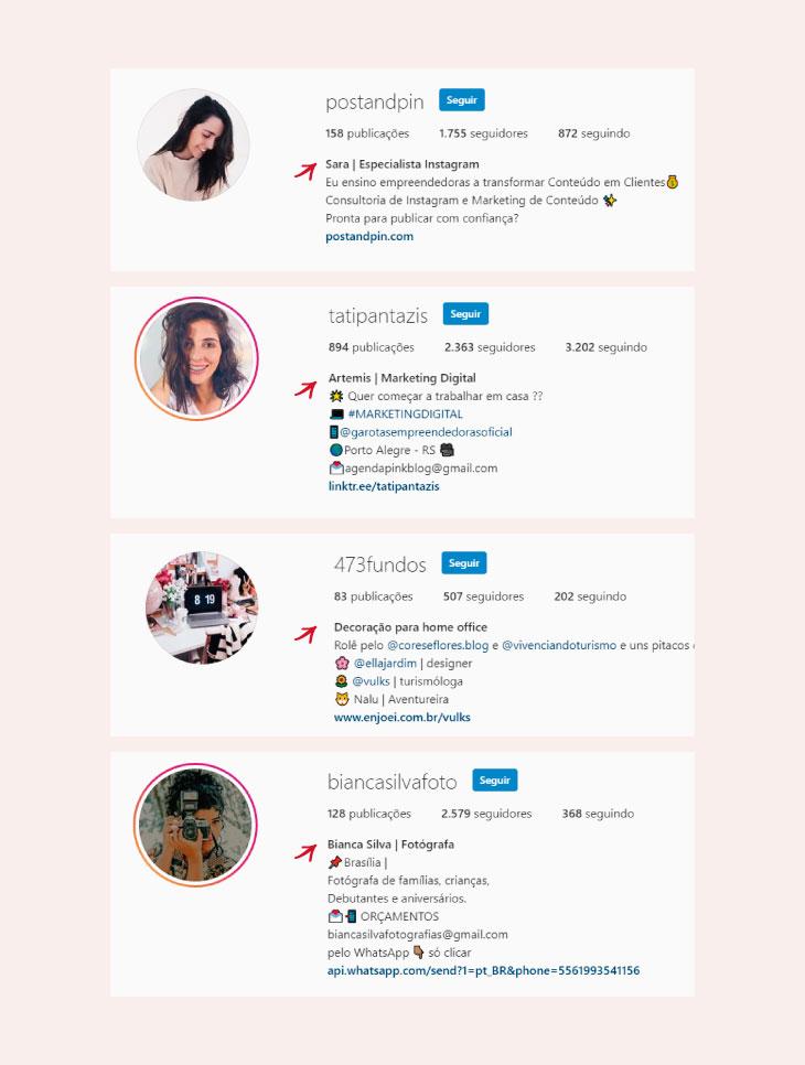Como criar a bio do Instagram para ganhar mais seguidores reais